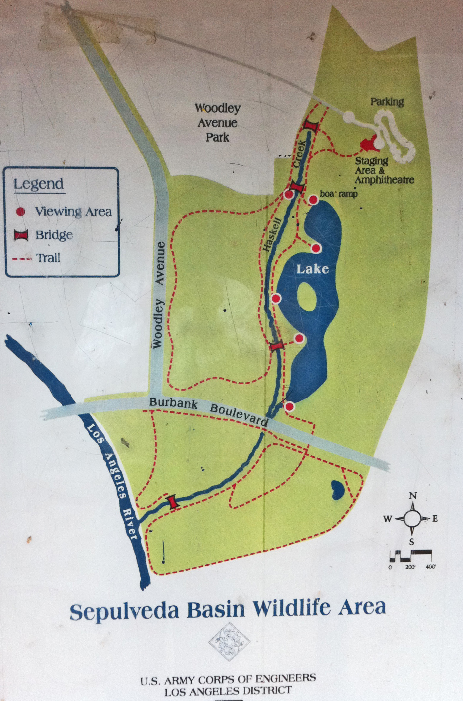 click here for a local trail map of the wildlife reserve